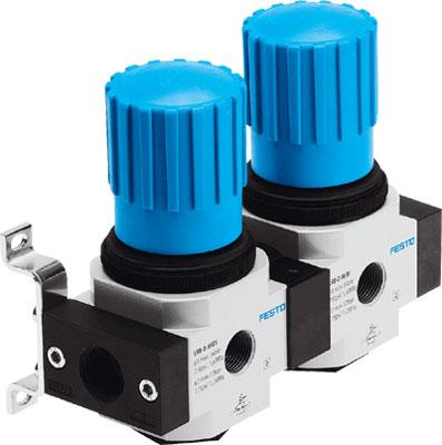 Коллектор регуляторов давления Festo LRB-1/4-D-O-K2-MINI