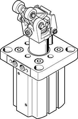 Стопорный цилиндр Festo DFST-50-30-L-Y4-A