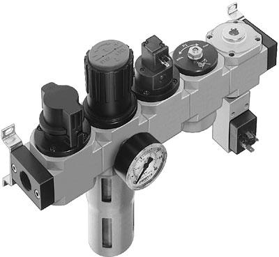 Блок подготовки воздуха Festo LFR-1/4-D-MINI-KG