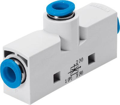 Эжектор базовый вакуумный пневматический Festo VN-14-H-T4-PQ2-VQ3-RQ3