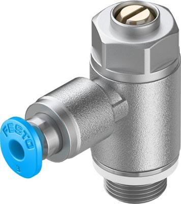 Дроссель с обратным клапаном Festo GRLA-1/8-QS-3-D