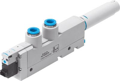 Эжектор базовый вакуумный электро-пневматический Festo VN-14-H-T4-PQ3-VQ3-RO2-M