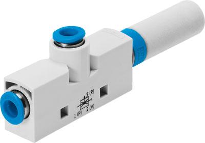 Эжектор базовый вакуумный пневматический Festo VN-10-H-T4-PQ2-VQ3-RO2