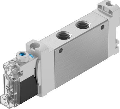 Распределитель с электроуправлением Festo VUVG-LK14-M52-AT-G18-1H2L-S