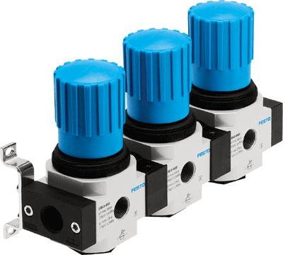 Коллектор регуляторов давления Festo LRB-1/2-D-7-O-K3-MIDI