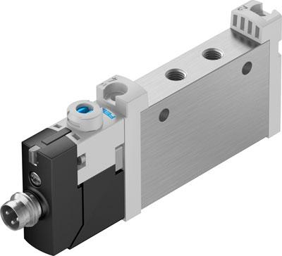 Распределитель с электроуправлением Festo VUVG-L10-M52-MT-M5-1R8L