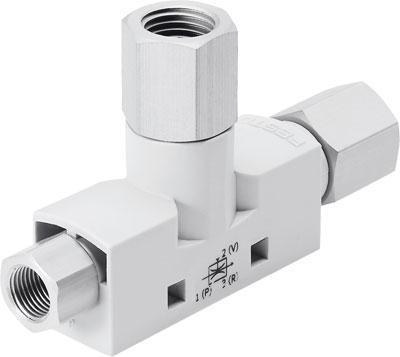 Эжектор базовый вакуумный пневматический Festo VN-05-H-T2-PI2-VI2-RI2