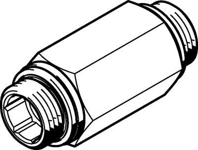 Обратный клапан Festo H-1/2-B