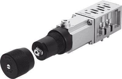 Промежуточная плита с регулятором давления Festo LR-ZP-P-D-3