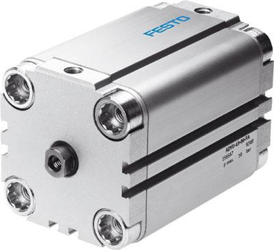 Компактный цилиндр Festo ADVU-63-10-P-A