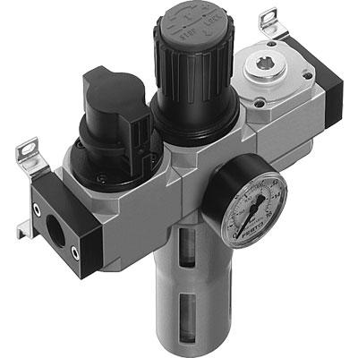Блок подготовки воздуха Festo LFR-1/4-D-MINI-KB-A