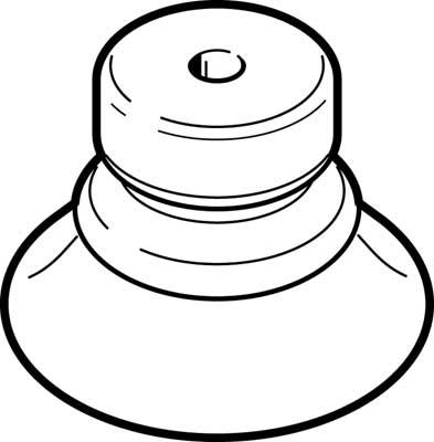 Присоска вакуумная сильфонная Festo ESV-40-BN