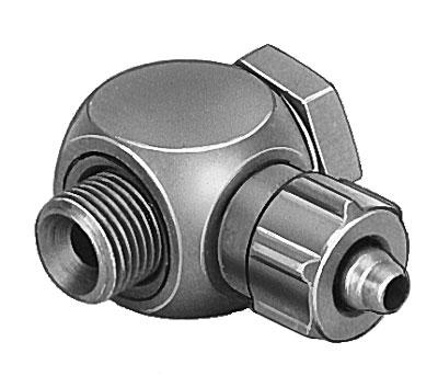 Штуцер ниппельный угловой с накидной гайкой Festo LCK-1/8-PK-6