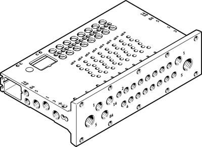 Коллектор Festo VABM-L1-10HWS2-G18-16-GR