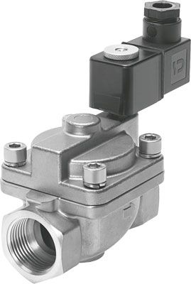 Клапан с электроуправлением Festo VZWP-L-M22C-G34-250-1P4-40