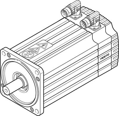 Серводвигатель Festo EMMS-AS-140-L-HV-RRB-S1