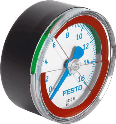 Манометр Festo MA-40-16-R1/8-E-RG