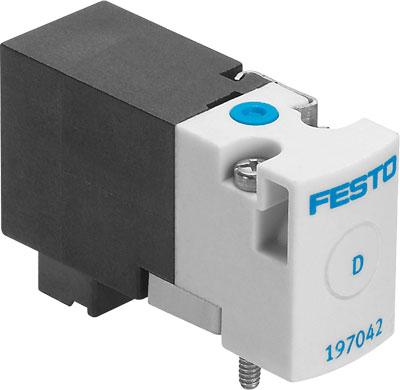 Распределитель с электроуправлением Festo MHA1-M4H-2/2G-0,9-PI