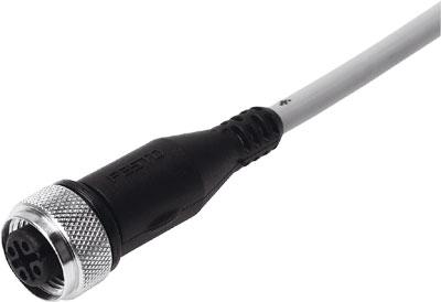 Соединительный кабель Festo SIM-M12-4GD-5-PU