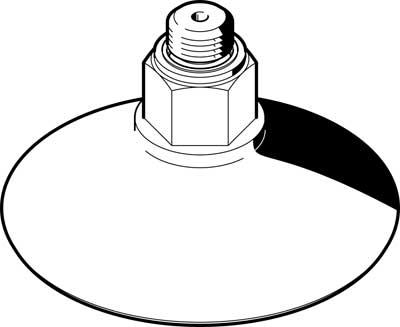 Захват вакуумный в форме колокола Festo ESS-50-GT-M6