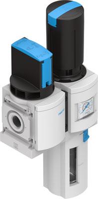 Блок подготовки воздуха, комбинация Festo MSB6-1/2:C3J2-WP