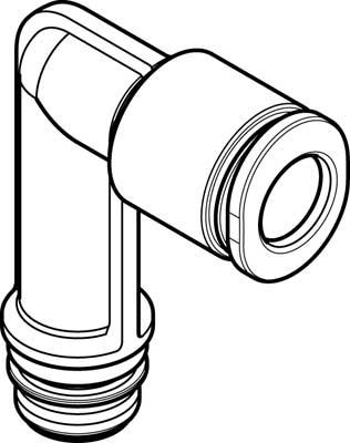 Картридж цанговый угловой Festo QSPLLK10-6 (комплект 10 шт)