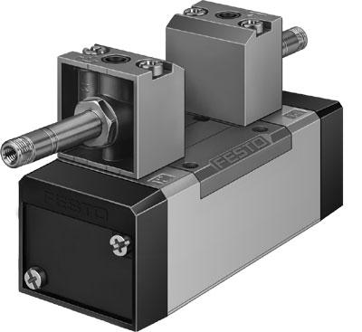Распределитель с электроуправлением Festo MFH-5/3B-D-1-S-C