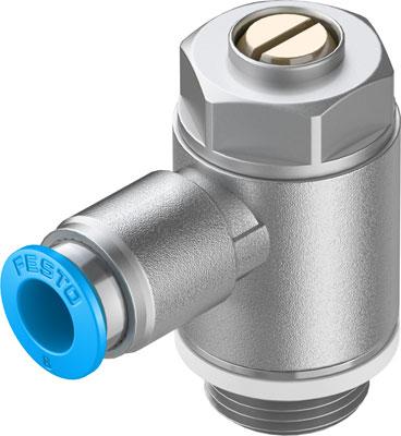 Дроссель с обратным клапаном Festo GRLA-3/8-QS-8-D