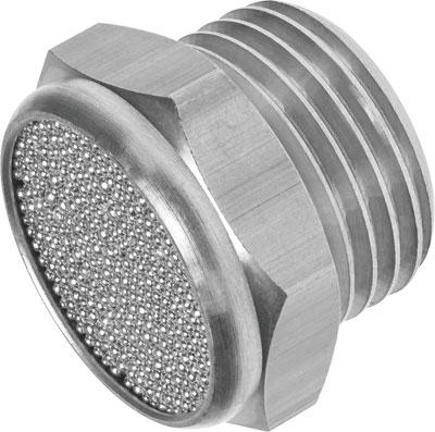 Глушитель латунный резьбовой Festo AMTE-M-H-G14