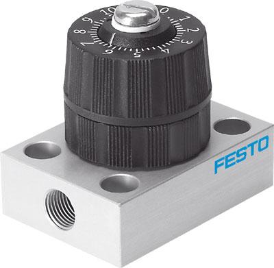 Прецизионный дроссель Festo GRPO-70-1/8-AL