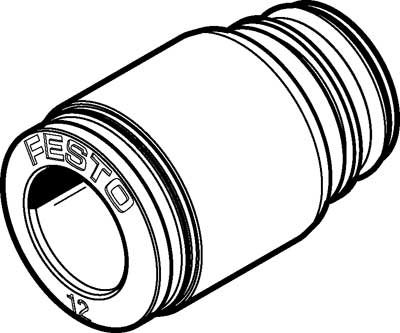 Картридж цанговый прямой Festo QSPKG20-12 (комплект 10 шт)