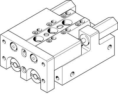 Мини-суппорт Festo SLT-16-30-A-CC-B