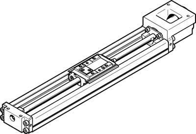 Электрический суппорт Festo EGSK-20-75-6P
