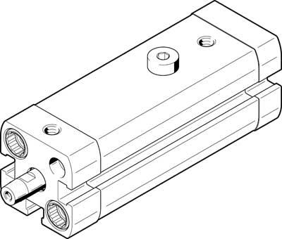 Линейно-поворотный зажим Festo CLR-16-20-R-P-A