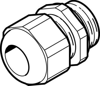 Соединитель кабеля Festo NETC-P-M12-EX4
