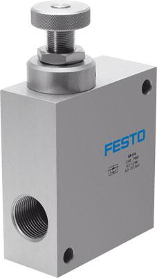 Дроссель с обратным клапаном Festo GR-3/4