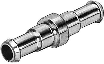 Муфта ниппельная, прямая Festo RTU-PK-6/6 (комплект 10 шт)