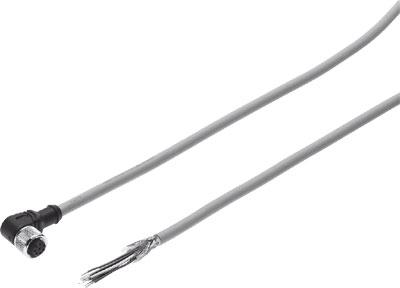 Штекерная розетка с кабелем Festo NEBU-M12W8-K-2-N-LE8