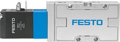 Распределитель с электроуправлением Festo MVH-5-1/8-L-B