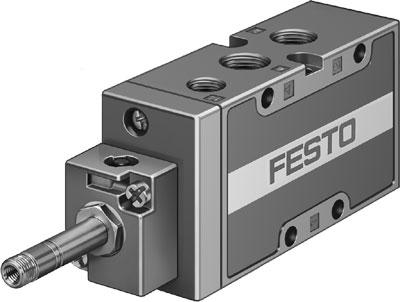 Распределитель с электроуправлением Festo MFH-5-1/4-B