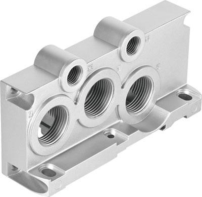 Торцевая плита Festo VABE-S6-2RZ-G34