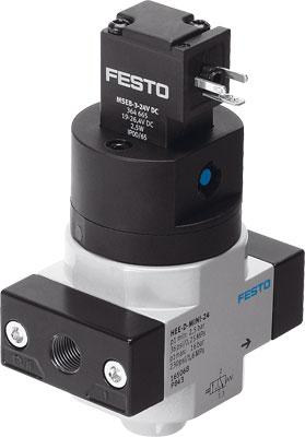 Отсечной распределитель Festo HEE-1/4-D-MINI-24