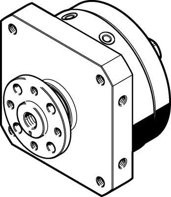 Неполноповоротный привод Festo DSM-32-270-FW-A-B