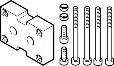 Адаптерная плита для параллельного захвата Festo DHAA-G-Q11-16-B8G-25