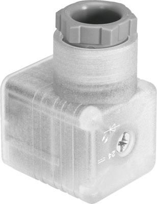 Штекерная розетка угловая Festo PEV-1/4-WD-LED-24