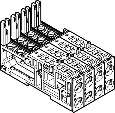 Монтажная плита Festo VMPAL-AP-4X14