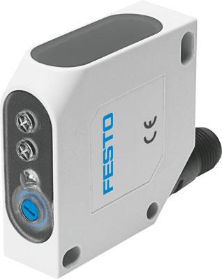 Датчик положения оптический диффузионный Festo SOEG-RTH-Q50-NA-S-3L