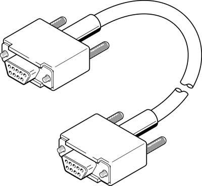 Кабель программирования Festo KDI-PPA-3-BU9