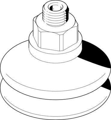 Комплектный вакуумный захват Festo 525994 ESS-50-BT-M10