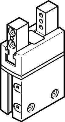 Захват параллельный стандартный Festo DHPS-16-A